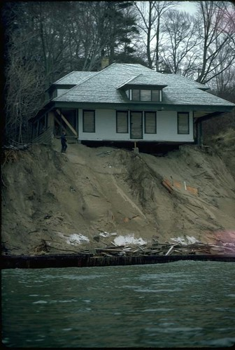 lake Michigan beach erosion