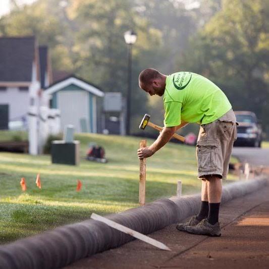installing tube