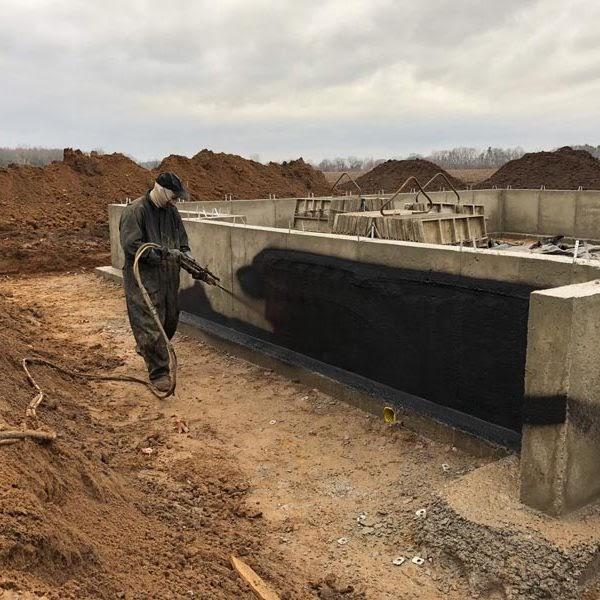 Winterizing foundation
