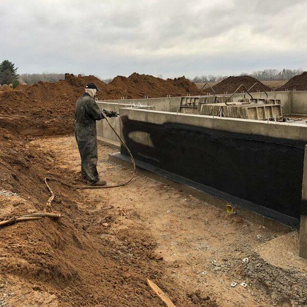 foundation laying
